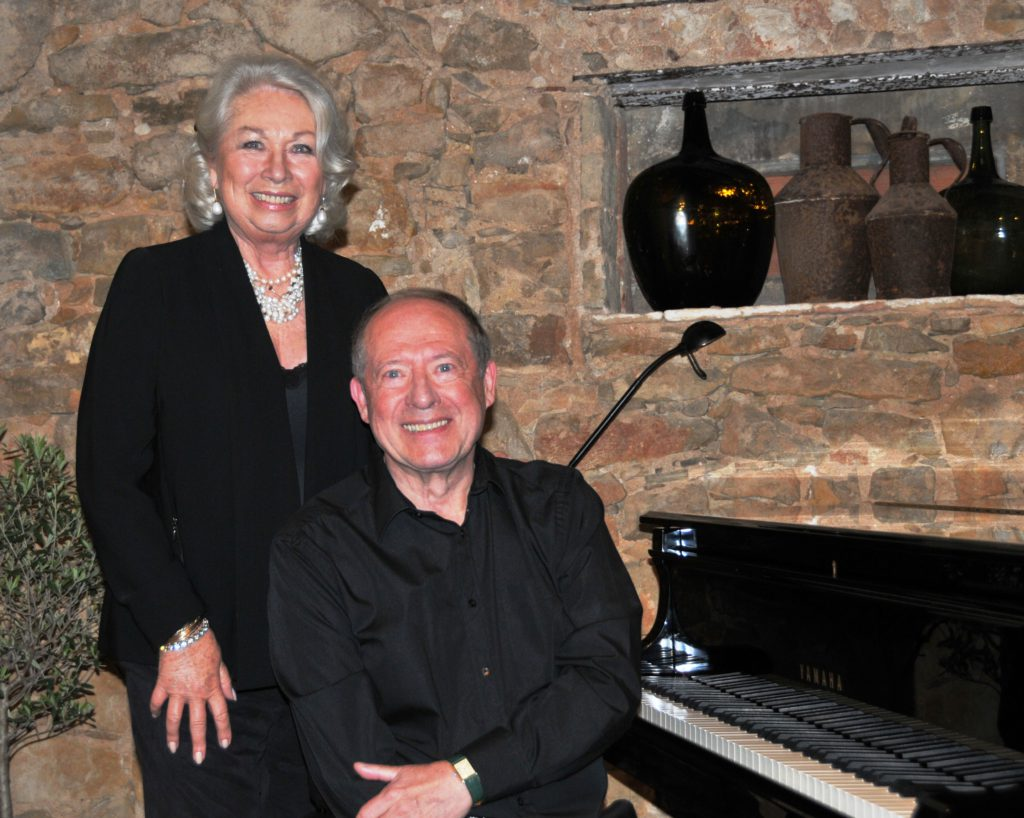 Helga Hampton with Paul Crossley