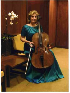 Maria José Falcão, cello